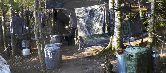 Image: Hermit's campsite